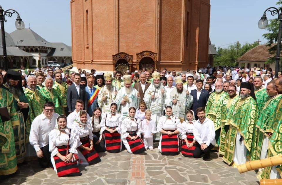 Hramul Mănăstirii Scărișoara Nouă, sărbătorit în prezența a patru ierarhi