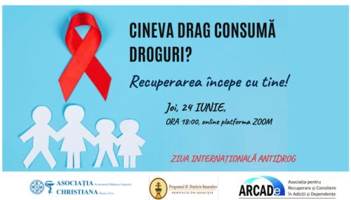 """Evenimente antidrog, la centrul """"Sf. Dimitrie Basarabov"""" al Arhiepiscopiei Clujului"""