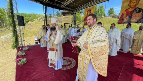 Binecuvântarea arhierească în Parohia Sâmboieni