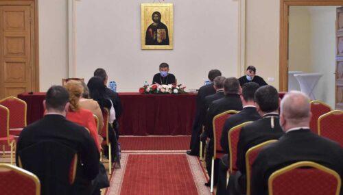 Juriștii tuturor eparhiilor din țară s-au întrunit la București