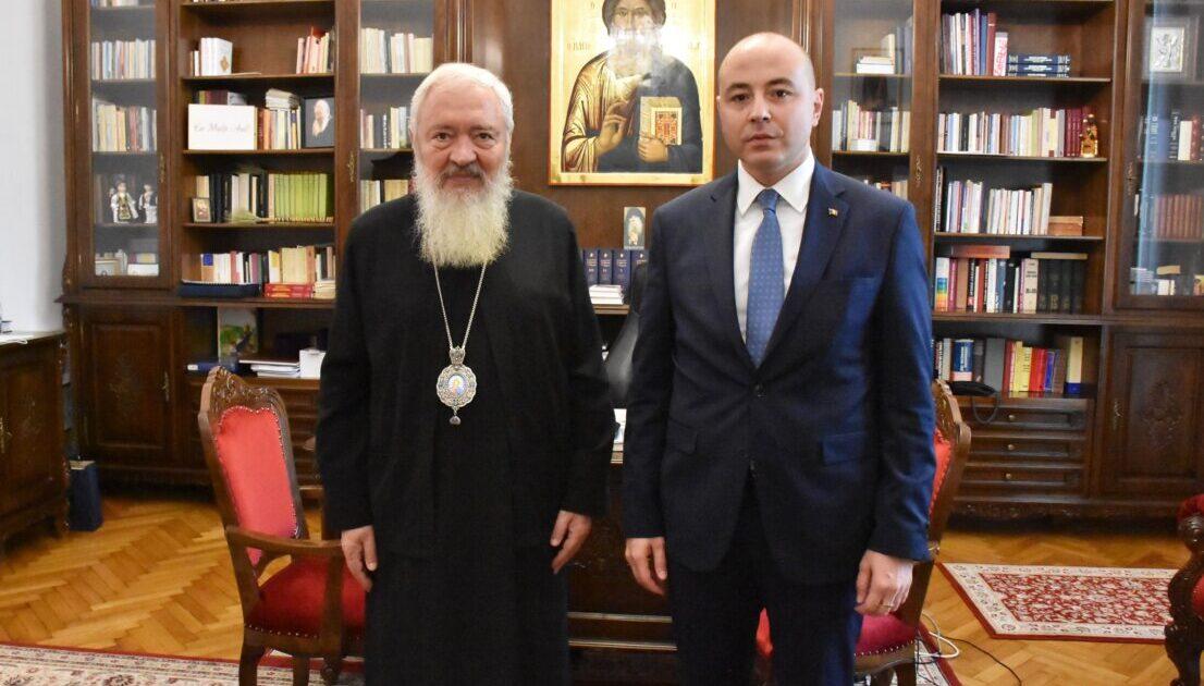 Mitropolitul Clujului a primit vizita viitorului ambasador al României în SUA