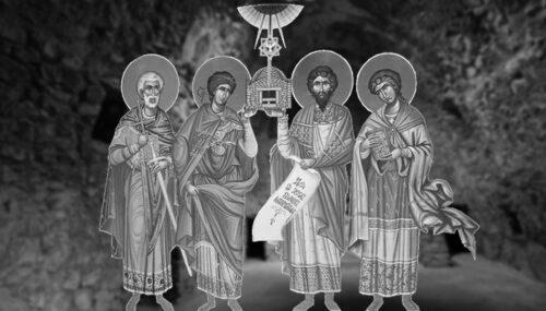 Viaţa imaginară a Sfinţilor Mucenici Zoticos, Attalos, Kamasis şi Filippos de la Niculiţel