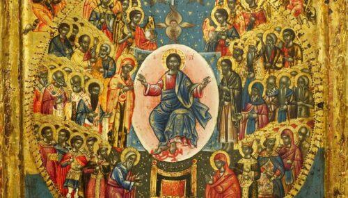 Agenda ierarhilor în Duminica întâi după Rusalii (a Tuturor Sfinților)