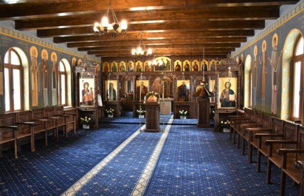 """Mănăstirea """"Sfinții Apostoli Petru si Pavel"""" din Țara Năsăudului"""
