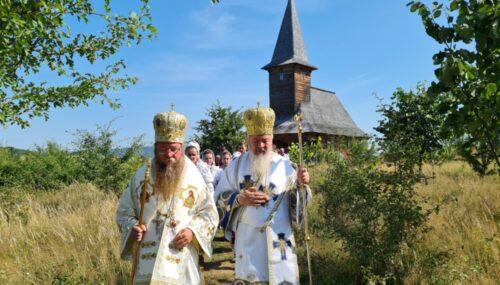 """Sfințirea bisericii Mănăstirii """"Sf. Maria Magdalena"""" din Oarța de Sus, satul natal al Mitropolitului Andrei"""