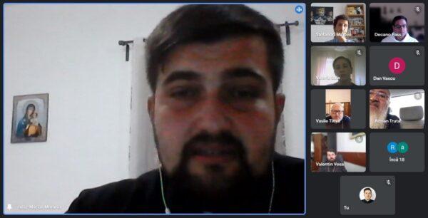 """Protos. dr. Maxim Morariu, doctor pentru a doua oară, la Roma, cu teza """"Concepția lui Virgil Gheorghiu despre comunism, nazim și capitalism"""""""