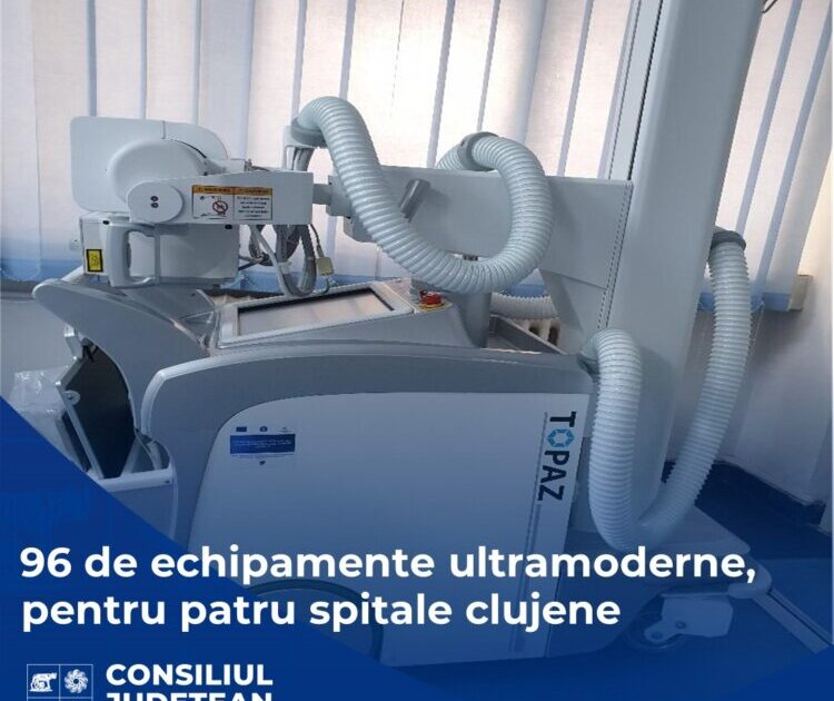 Echipamente medicale în valoare de circa 6 milioane de lei, pentru patru spitale clujene