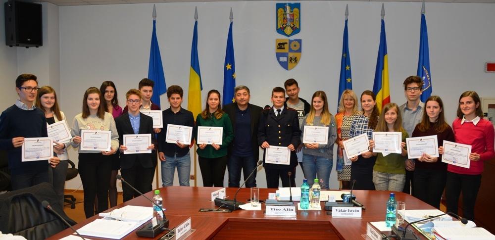 Consiliul Județean Cluj va premia elevii merituoși ai județului