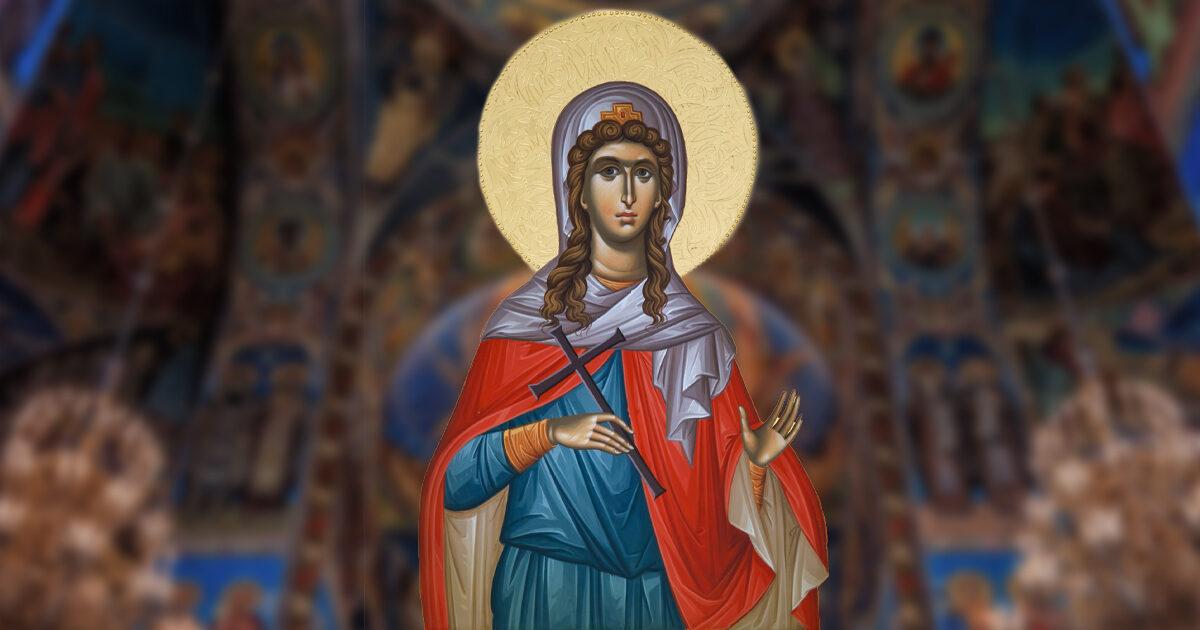 Sfânta Muceniță Chiriachi, model de statornicie și perseverență