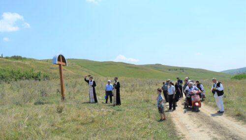 Mai multe cruci ridicate la Berchieșu, în memoria eroilor Revoluției de la 1848