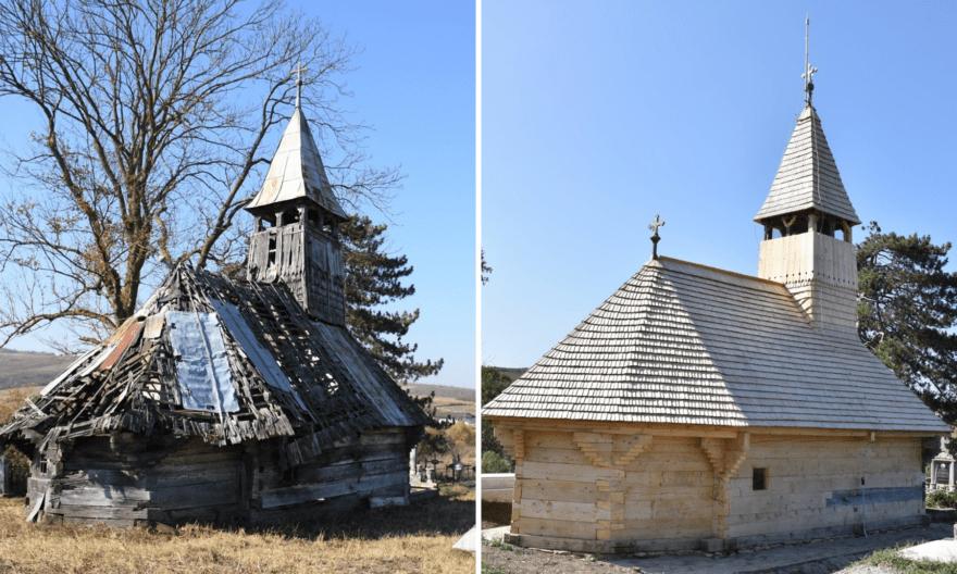 Biserica de la Săliștea Veche a fost salvată