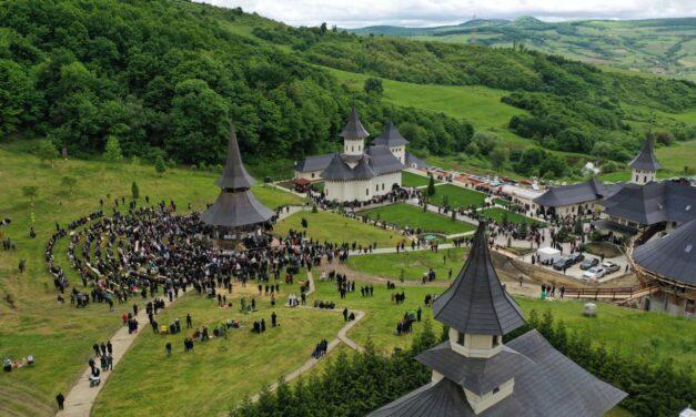 """Mănăstirea """"Sfântul Proroc Ilie Tesviteanul"""" de la Nușeni"""