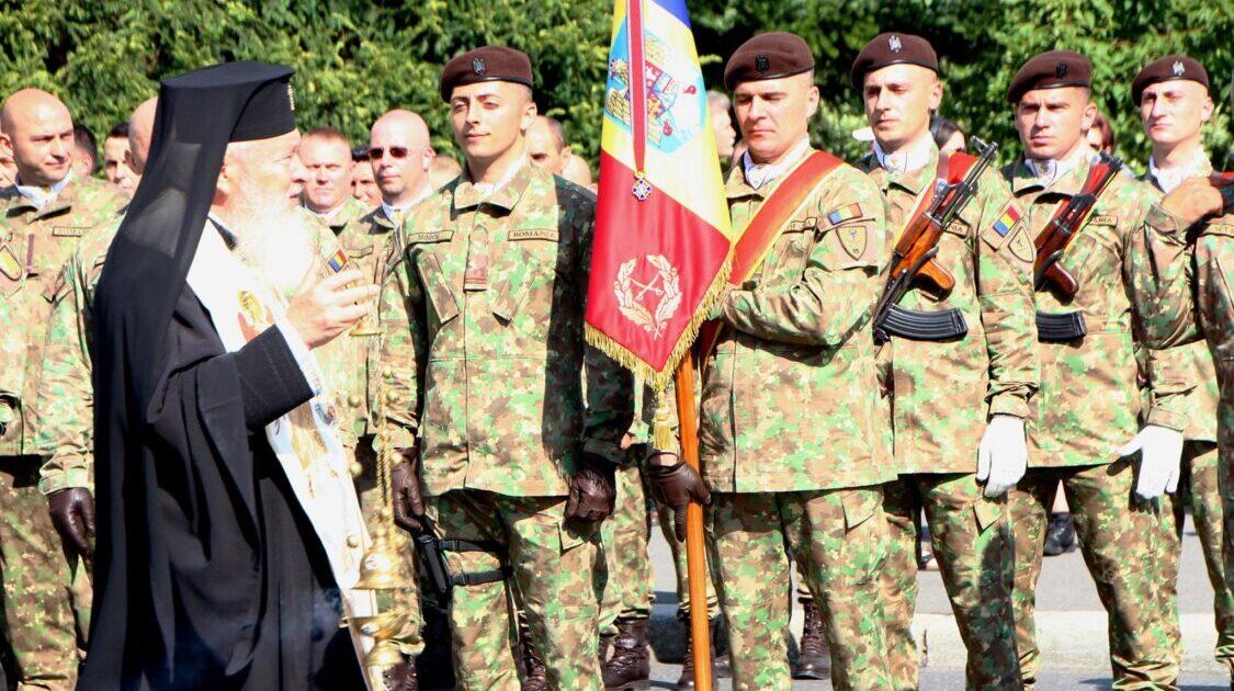 """IPS Andrei, la aniversarea Diviziei 4 Infanterie """"Gemina"""": """"Să cultivăm sentimentul de dragoste față de țară"""""""
