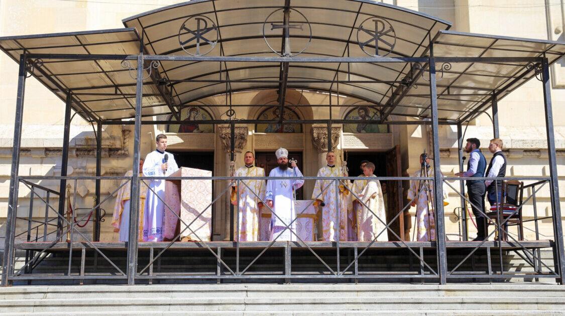 Duminica a 7-a după Rusalii, la Catedrala Mitropolitană din Cluj-Napoca