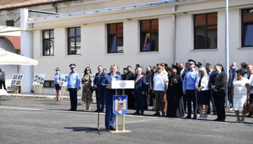 """PS Părinte Benedict a participat la inaugurarea noii clădiri a Grupării de Jandarmi Mobilă """"Ștefan Cicio Pop"""" din Cluj-Napoca"""