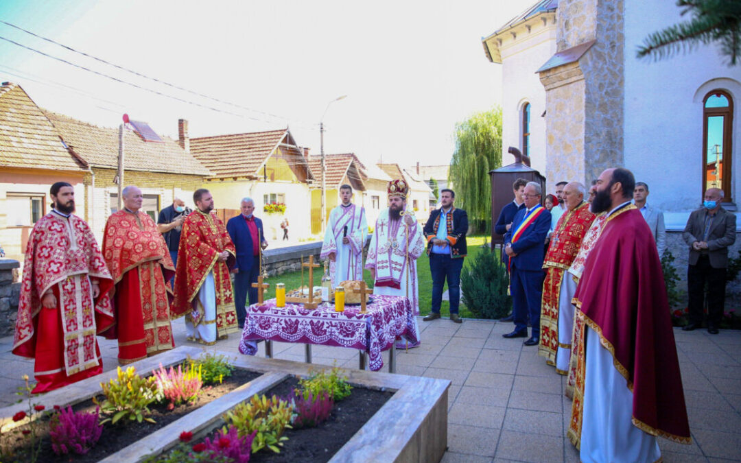 Protopopul Aurel Munteanu, comemorat la Huedin, la 81 de ani de la moartea sa martirică