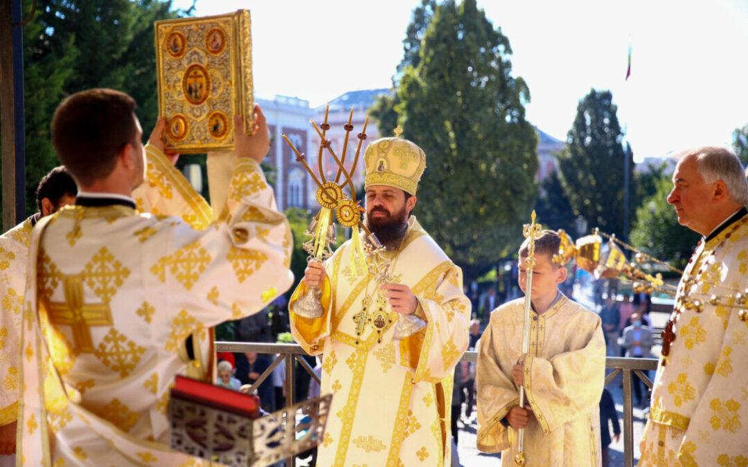 Liturghie arhierească la Catedrala Mitropolitană, în Duminica după Înălțarea Sfintei Cruci