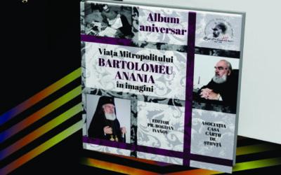 """""""Viața Mitropolitului Bartolomeu Anania (1921-2021) în imagini"""" va fi lansată vineri, 17 septembrie la Cluj-Napoca"""