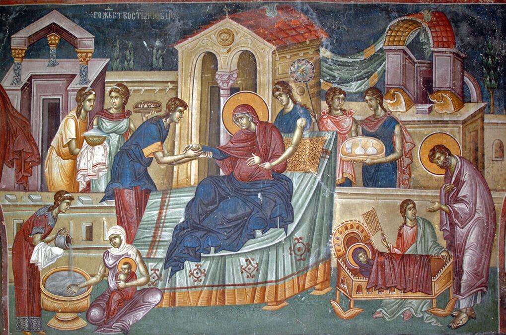Sărbătoarea și icoana Nașterii Maicii Domnului