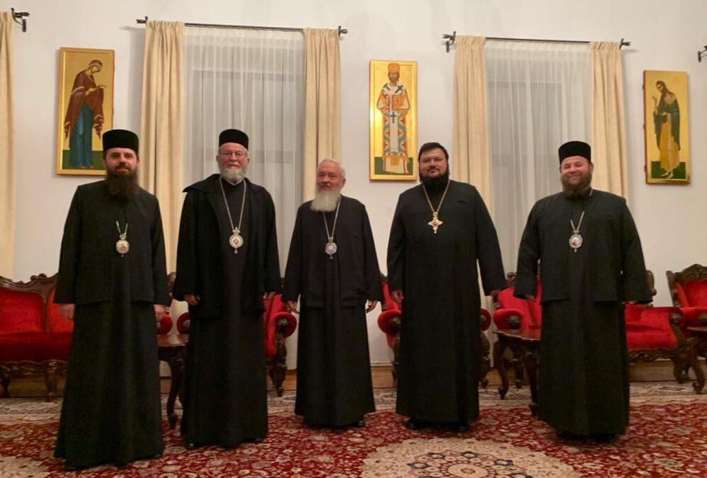 Şedinţă de lucru a Sinodului Mitropoliei Clujului, Maramureșului şi Sălajului