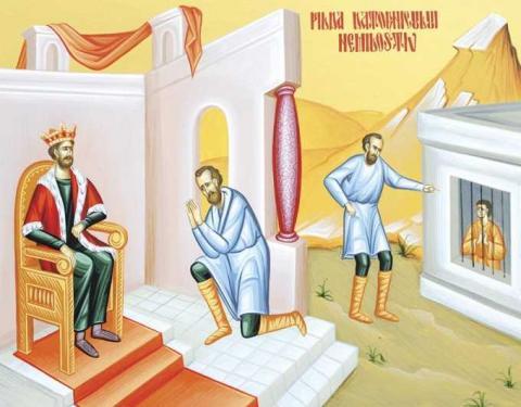 Agenda ierarhilor în Duminica a 11-a după Rusalii