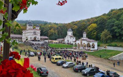 """Hramul Mănăstirii """"Acoperământul Maicii Domnului"""" de la Florești"""
