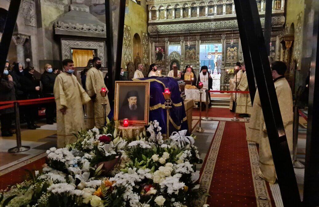 Slujbă de pomenire pentru sufletul Părintelui Episcop Vasile, oficiată de ÎPS Andrei și PS Benedict
