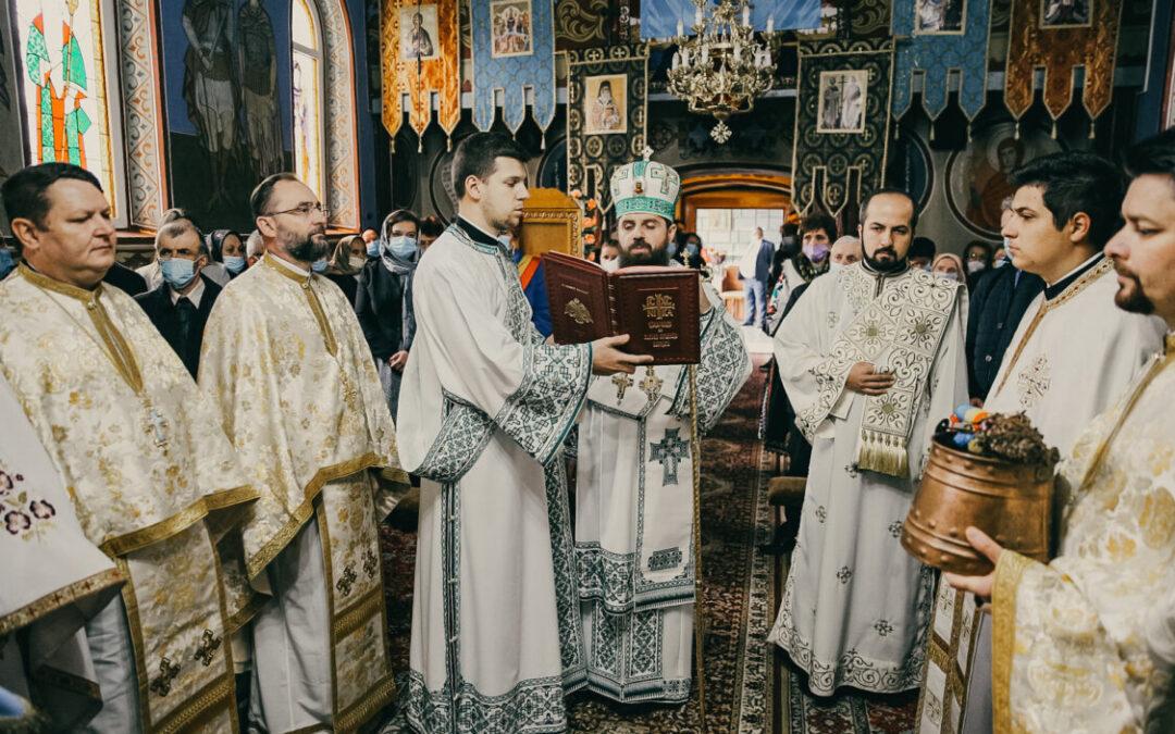 Binecuvântarea lucrărilor efectuate la Biserica din Sânmărtin