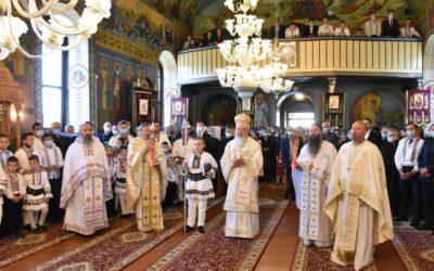 Binecuvântare arhierească și sfințire de capelă mortuară la Sebiș