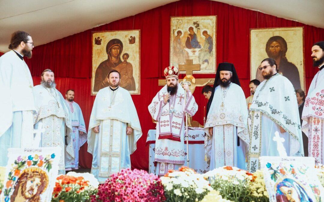 """Sfinţii Mărturisitori Ardeleni, prăznuiți la Mănăstirea """"Petru Rareș Vodă"""" din Ciceu-Corabia"""