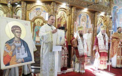 Episcopia Maramureşului l-a proclamat pe Sf. Mc. Dimitrie ocrotitor al municipiului Carei
